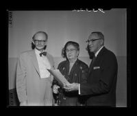 Mental Health Foundation, Inc. founders at organization's launch, 1955.