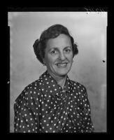 Sylvia Marshall, San Fernando Valley mental health advocate, portrait, 1959.