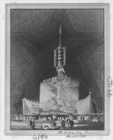 "Newsreel Theatre ""Diana,"" photograph of rendering"