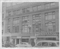 Newsreel Theatre, Oakland, façade