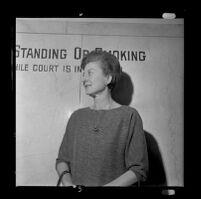 Lavana Drankhan, witness at the trial of Jack Kirschke, Los Angeles, 1967