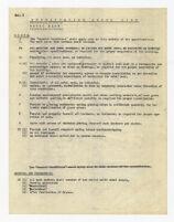 Specification check list, metal sash, undated