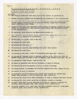 Specification check list, glass and glazing, undated