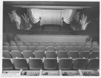 Picwood Theatre,  Los Angeles, auditorium from balcony
