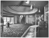 Picwood Theatre,  Los Angeles, foyer entry