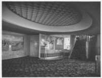 Picwood Theatre,  Los Angeles, foyer, candy counter
