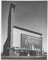 Picwood Theatre,  Los Angeles, facade, day