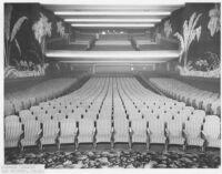 Picwood Theatre,  Los Angeles, auditorium, rear