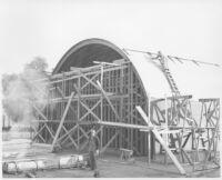 Puente Theatre, Puente, construction