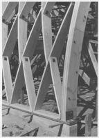 Puente Theatre, Puente, truss detail