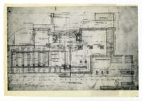 Lovell Health House, miscellaneous schematic studies, 1927-29, 1 of 2