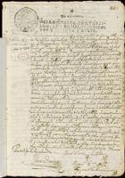 Contract for sale of land, San Felipe Santiago, Azcapotzalco