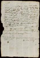 Receipt of debt, origin unknown
