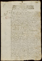 Contract for sale of land, Azcapotzalco, 1735