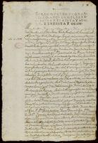 Contract for sale of land, Atzcapotzalco, 1738