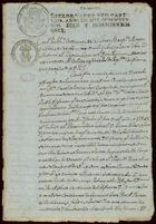 Contract for sale of land, San Juan Bautista, Metepec