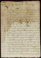 Testimony regarding certification of land, San Lucas, Tlacochcalco