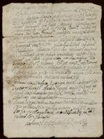 Testimony of Gregorio Sebastian, San Juan Bautista, Metepec