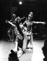 3 dancers perform the Ramayana