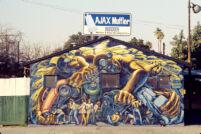 Ajax Muffler Mural