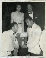 Angelique DeLavallade, Calvin Jackson, and John Coleman, Los Angeles, 1940s