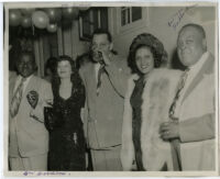 William Goodloe, Juanita Goodloe, Walter Gordon, Jr., Liz McCullough, and Mye Haddox in Los Angeles, circa 1951