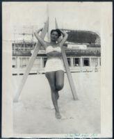 Ethel (Sissle) Gordon, Atlantic City, 1940s