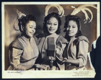 Publicity photo for The Bye Sisters, New York, 1940s