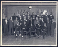 Phi Beta Sigma men, Los Angeles, 1940s