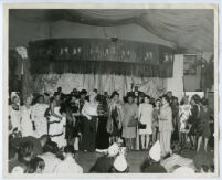 Drag contest hosted by Bill Hefflin at the Club Alabam, Los Angeles, 1940s