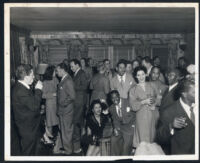 House party in Los Angeles, 1940s