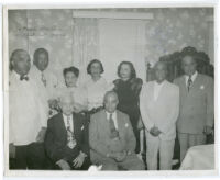 African American attorneys and others, Los Angeles, 1940s