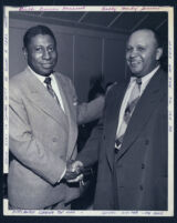 William G. (Bill) Nunn and Halley Harding, Los Angeles, 1940s