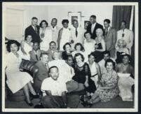Birthday party for Walter L. Gordon, Jr., Los Angeles, 1950s