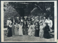 Alpha Kappa Alpha sorority gathering, Los Angeles, 1940s