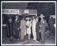 Picnic party near E. 109th Street and Central Avenue, Los Angeles, 1940s