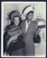 Vivian Jackson and Pearl Bailey in Los Angeles, 1940s