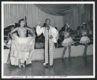 Aurora Greeley and Leroy Broomfield (Broomfield and Greeley) performing at the Club Alabam, Los Angeles, 1940s
