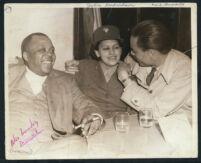 Alex Lovejoy, Julia Richardson and Earl Griffin, Los Angeles, 1940s