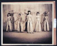 Club Alabam chorus line, Los Angeles, 1940s