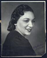 Portrait of Ida Lewis, Chicago, 1940s