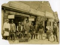 Walter L. Gordon, Sr.'s shoeshine parlor, Santa Monica, 1910s