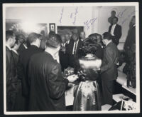 Taylor Party, Broady residence, Los Angeles, December 16, 1965
