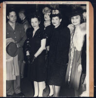 Miriam Matthews, Angelique DeLavallade and unidentified individuals, Los Angeles, 1940s