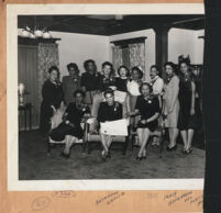 Group of politically-minded women, Los Angeles, 1940s