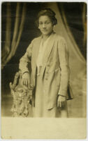 Postcard with picture of African American woman, early 20th century