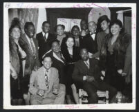 African American actors, Los Angeles, 1940s (2nd photo)