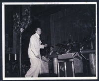Cab Calloway performing in Los Angeles, 1940s