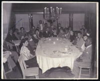 Large gathering of prominent African Americans, Los Angeles, between 1925 and 1930