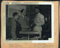 James Garcia, Walter Gordon, and Al Hooseman, Los Angeles, 1940s